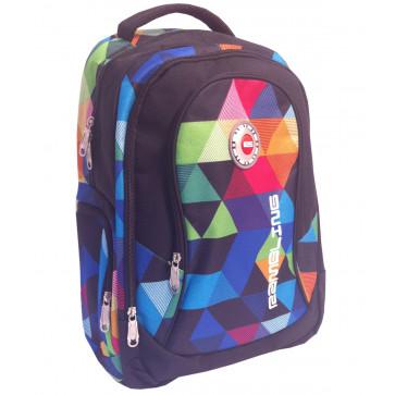Rucsac, 44 x 31 x 18cm, multicolor, PIGNA School Friendly ACS