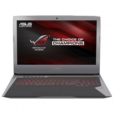 "Laptop ASUS ROG G752VY-GC299T 17.3"" FHD, Intel® Core™ i7-6820HK pana la 3.6GHz, 64GB, 1TB HDD + 2 x 256GB SSD, nVIDIA GeForce GTX 980M 8GB, Windows 10"