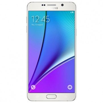 "Smartphone SAMSUNG Galaxy Note 5, 5.7"", 16MP, 4GB RAM, 4G, Octa-Core, 32GB, White"