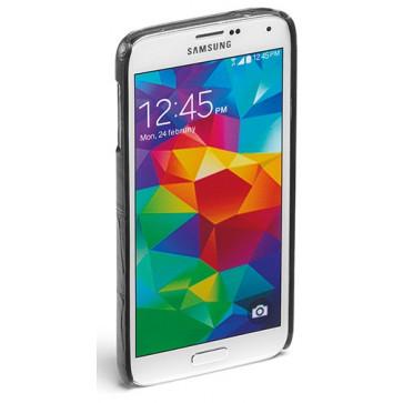Carcasa Samsung Galaxy S5, negru, textura piele de crocodil, FEDON