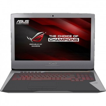 Laptop ASUS  ROG G752VY-GC178T, 17.3'' FHD IPS, Procesor Intel® Core™ i7-6700HQ pana la 3.5GHz, 16GB, 1TB+128GB SSD, GeForce GTX 980M 4GB, Windows 10