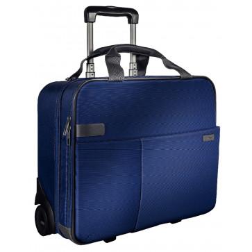 Geanta cu 2 rotile, albastru-violet, LEITZ Smart Traveller