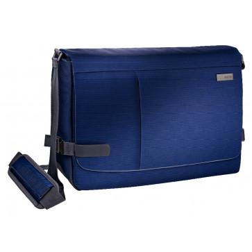 Geanta pentru laptop 15.6'', albastru-violet, LEITZ Smart Traveller Messenger