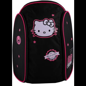 Ghiozdan scolar, 45 x 34 x 21cm, negru, PIGNA Hello Kitty