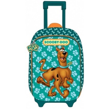Ghiozdan troller, clasele 1-4, 1 fermoar, PIGNA Scooby Doo
