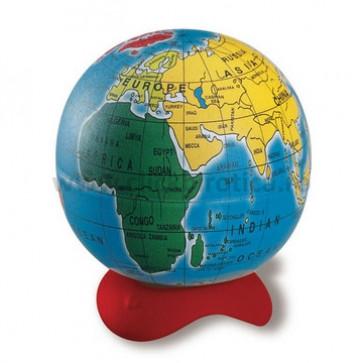 Ascutitoare din metal, simpla, cu container, MAPED Globe