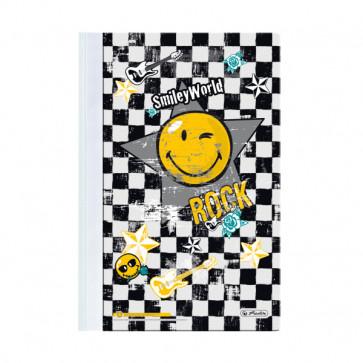 Dosar din plastic cu sina, A4, HERLITZ Smiley World Rock