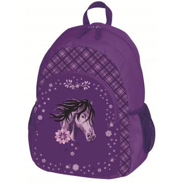 Rucsac ergonomic, pentru scoala primara, HERLITZ Glitter Horse