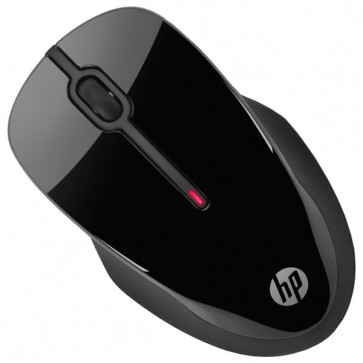 Mouse Wireless HP X3500, USB, negru