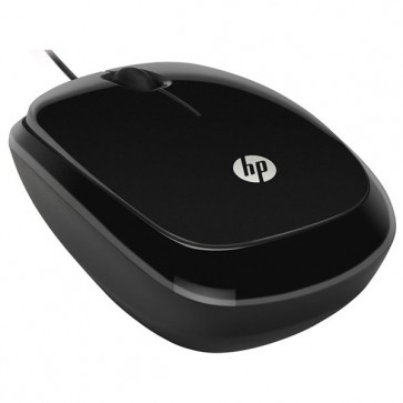 Mouse optic HP X1200, 1200 dpi, USB, Sparkling Black