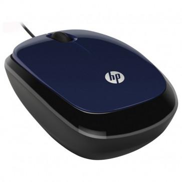 Mouse optic HP X1200, 1200 dpi, USB, Revolutionary Blue
