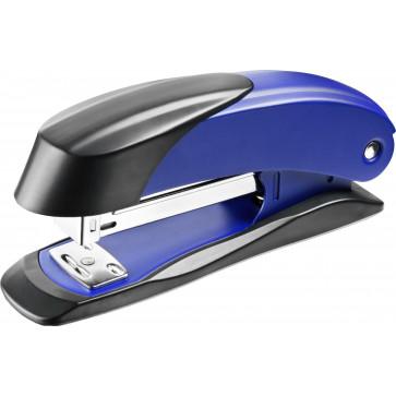 Capsator de birou, pentru maxim 30 coli, capse 24/6, albastru, LACO H400