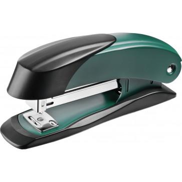 Capsator de birou, pentru maxim 30 coli, capse 24/6, verde, LACO H400