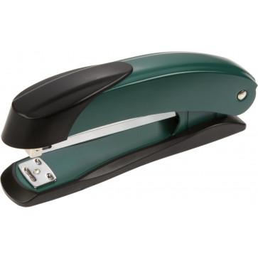Capsator de birou, pentru maxim 30 coli, capse 24/6, verde, LACO H401