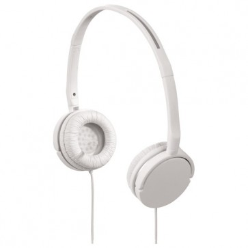 Casti on-ear, alb, HAMA Joy slim