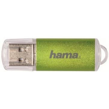 Stick USB HAMA Laeta 64GB verde