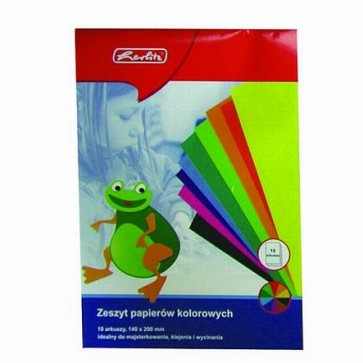 Hartie glasata, A4, 10 file/set, HERLITZ