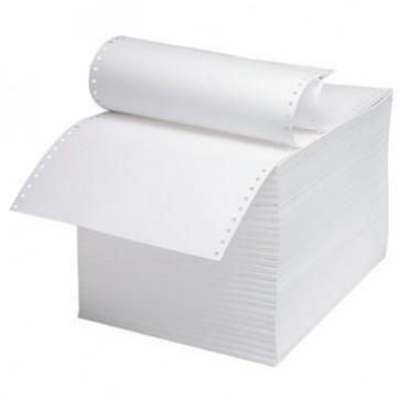 Hartie pentru imprimanta matriciala A4, 1 ex, alb, 60 g/mp, 1800 coli/cutie