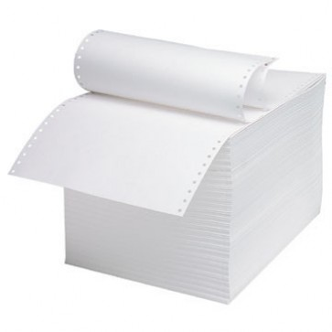 Hartie pentru imprimanta matriciala A4, 2 ex, a-a, 56-55 g/mp, 900 seturi/cutie