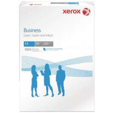 Hartie alba A3, 80 g/mp, 500 coli/top, XEROX Business