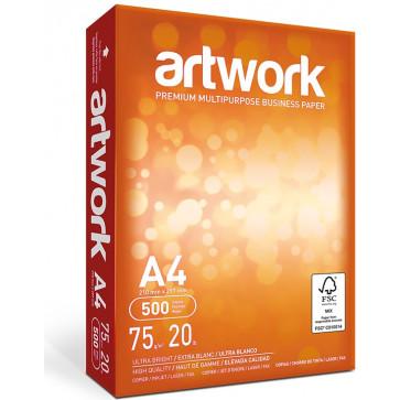 Hartie A4, 500 coli/top, ARTWORK Ultra Bright