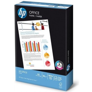Hartie A4, 80 g/mp, 500 coli/top, HP OFFICE