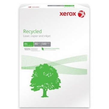 Hartie A4, 80 g/mp, 500 coli/top, XEROX Recycled