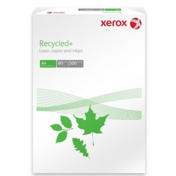 Hartie alba A4, 80 g/mp, 500 coli/top, XEROX Recycled+