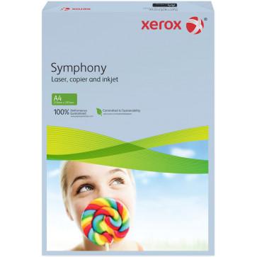 Hartie colorata A4, albastru deschis, 80 g/mp, 500 coli, XEROX Symphony