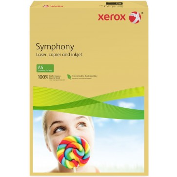 Hartie colorata A4, buttercup, 80 g/mp, 500 coli, XEROX Symphony