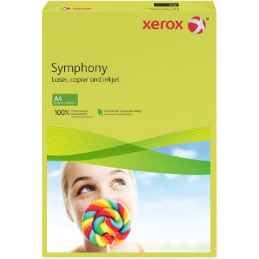 Hartie colorata A4, galben inchis, 160 g/mp, 250 coli, XEROX Symphony