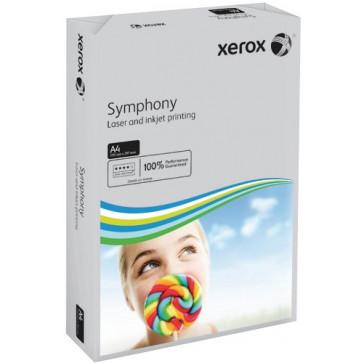 Hartie colorata A4, gri, 80 g/mp, 500 coli, XEROX Symphony