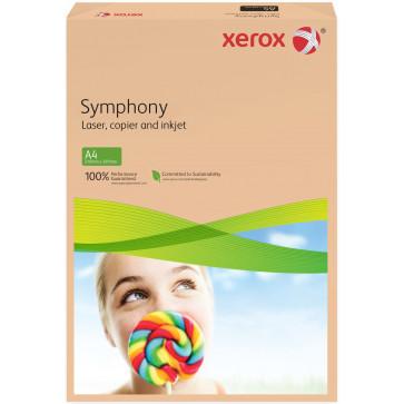 Hartie colorata A4, roz-portocaliu, 160 g/mp, 250 coli, XEROX Symphony
