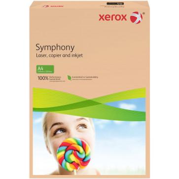 Hartie colorata A4, roz-portocaliu, 80 g/mp, 500 coli, XEROX Symphony