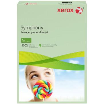 Hartie colorata A4, verde deschis, 160 g/mp, 250 coli, XEROX Symphony