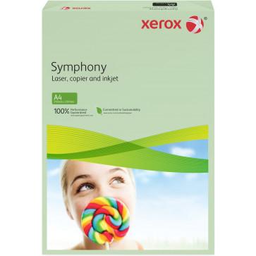 Hartie colorata A4, verde deschis, 80 gmp, 500 coli, XEROX Symphony