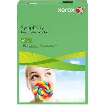 Hartie colorata A4, verde inchis, 160 g/mp, 250 coli, XEROX Symphony