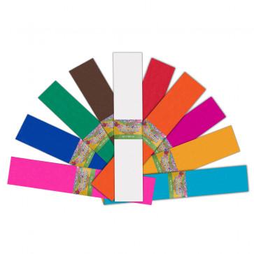Hartie creponata, 10 culori/set, PIGNA ColourKids