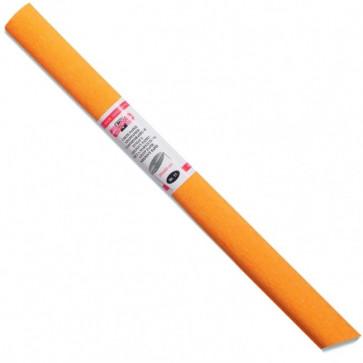 Hartie creponata 200 x 50cm, nr. 11, portocaliu deschis, KOH-I-NOOR