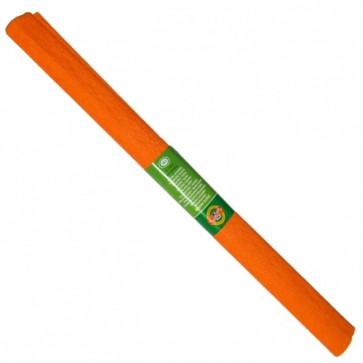 Hartie creponata 200 x 50cm, nr. 12, portocaliu, KOH-I-NOOR