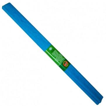 Hartie creponata 200 x 50cm, nr. 14, albastru azuriu, KOH-I-NOOR