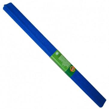 Hartie creponata 200 x 50cm, nr. 15, albastru inchis, KOH-I-NOOR