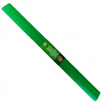 Hartie creponata 200 x 50cm, nr. 18, verde, KOH-I-NOOR