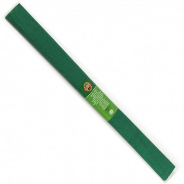 Hartie creponata 200 x 50cm, nr. 19, verde inchis, KOH-I-NOOR