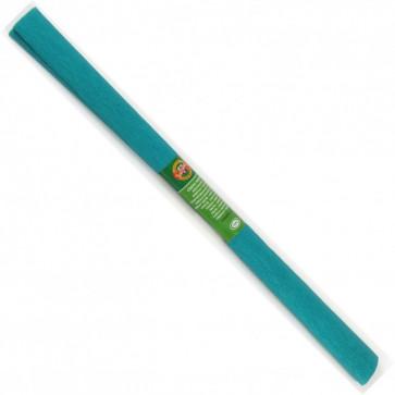 Hartie creponata 200 x 50cm, nr. 35, verde-albastru, KOH-I-NOOR