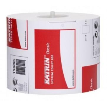 Hartie igienica, 12 rolebax 2 straturi, alba, KATRIN System, jumbo