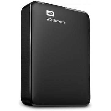 HDD extern WD Elements Portable, 2TB, 2.5, USB 3.0, black