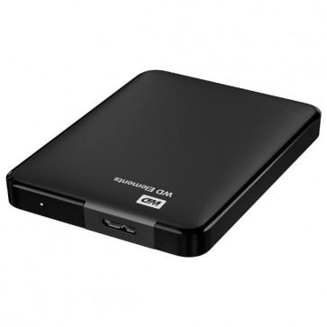 Hard Disk Drive, 2TB, USB 3.0, negru, WD Elements Portable WDBU6Y0020BBK