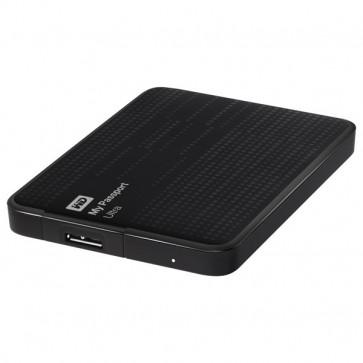 Hard Disk Drive portabil, 1TB, USB 3.0, negru, WD My Passport Ultra WDBZFP0010BBK