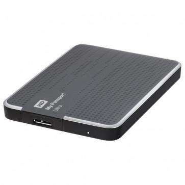 Hard Disk Drive portabil, 500GB, USB 3.0, titanium, WD My Passport Ultra WDBPGC5000ATT